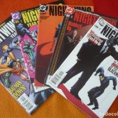 Cómics: NIGHTWING NºS 105, 106, 107, 108 Y 109 (DIXON GRAYSON) ( EN INGLES ) ¡MUY BUEN ESTADO! USA DC BATMAN. Lote 164678922