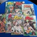 Cómics: RIMA THE JUNGLE GIRL # 1 AL 7 ¡¡COMPLETA!! - KUBERT / REDONDO / NIÑO - DC, 1975. Lote 164686470
