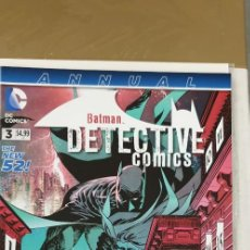 Cómics: DETECTIVE COMICS ANNUAL 3 DC THE NEW 52. Lote 164986222