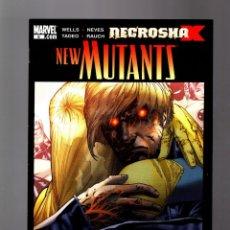 Comics : NEW MUTANTS 6 - MARVEL 2009 VFN/NM X-NECROSHA . Lote 165184482
