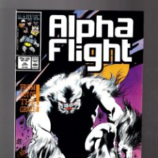 Cómics: ALPHA FLIGHT 45 - MARVEL 1987 - VFN. Lote 165348942