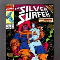 Cómics: SILVER SURFER 56 # MARVEL 1991 VFN/NM / THANOS / INFINITY GAUNTLET. Lote 165350610