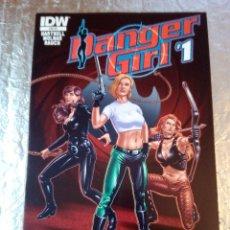 Cómics: -DANGER GIRL - IDW CVE RE - HARTNELL MOLNAR RAUCH - Nª1 - INGLES - 2015 - RENEGADE - COMIC BLOCKK. Lote 165536070