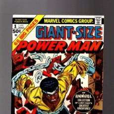 Cómics: POWER-MAN / LUKE CAGE HERO FOR HIRE GIANT SIZE 1 - MARVEL 1975 VFN. Lote 166434830