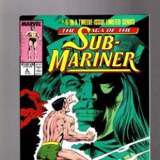 Cómics: SAGA OF THE SUB-MARINER 6 - MARVEL 1989 VFN/NM / NAMOR. Lote 288609528