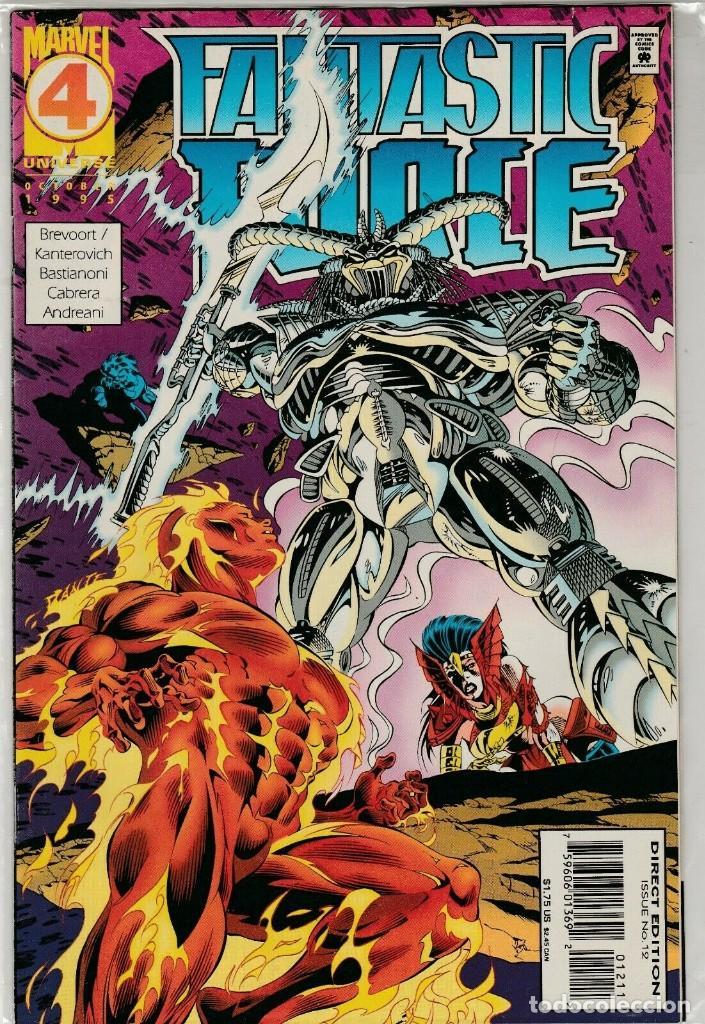 US MARVEL: FANTASTIC FORCE #12. INEDITO EN ESPAÑA. (Tebeos y Comics - Comics Lengua Extranjera - Comics USA)