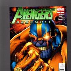 Cómics: AVENGERS ASSEMBLE 7 - MARVEL 2012 VFN/NM / BENDIS & BAGLEY / THANOS. Lote 166942000