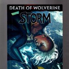Cómics: STORM 4 - MARVEL 2014 VFN / DEATH OF WOLVERINE. Lote 167139740