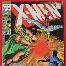 Cómics: UNCANNY X-MEN #54 (1963 1ST SERIES) - 1ST ALEX SUMMERS - (VG 4.0). Lote 167666208