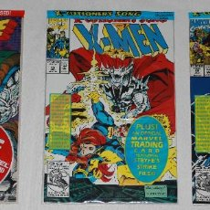 Cómics: X-FORCE #1, X-MEN #15, X-FACTOR #86 - SEALED & MARVEL TRADING CARDS - (NM 9.4). Lote 167667052