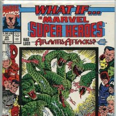 Cómics: US MARVEL: WHAT IF? VOLUME 2 - 25. WHAT IF? MARVEL SUPER HEROES HAD LOST ATLANTIS ATTACKS. INEDITO.. Lote 167723084