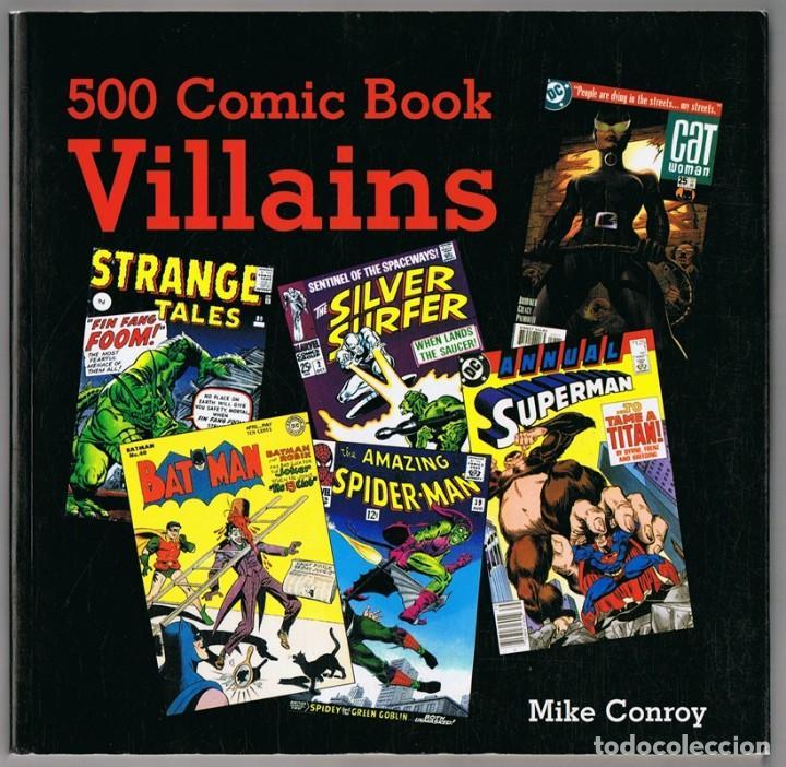 500 COMIC BOOK VILLAINS MIKE CONROY (Tebeos y Comics - Comics Lengua Extranjera - Comics USA)