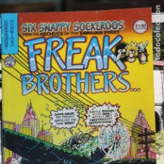 Cómics: THE FABULOUS FURRY FREAK BROTHERS SIX SNAPPY SOCKEROOS . Lote 167799720