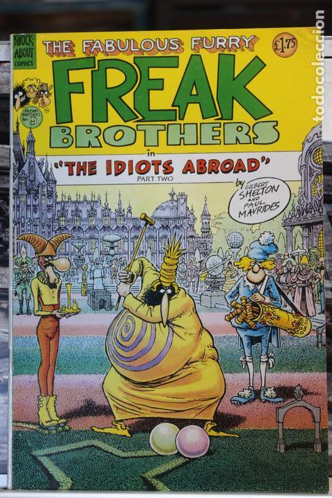 THE FABULOUS FURRY FREAK BROTHERS THE IDIOTS ABROAD (PART 2) (Tebeos y Comics - Comics Lengua Extranjera - Comics USA)