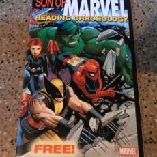 Comics : SON OF MARVEL READING CHRONOLOGY - MARVEL 2009 . Lote 167805084