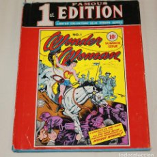 Cómics: FAMOUS FIRST EDITION: WONDER WOMAN #1 - 1974 RARE HARDCOVER. Lote 167881924