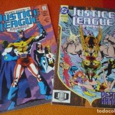 Cómics: JUSTICE LEAGUE AMERICA NºS 47 Y 73 ( JURGENS ) ( EN INGLES ) ¡BUEN ESTADO! DC USA. Lote 167954316