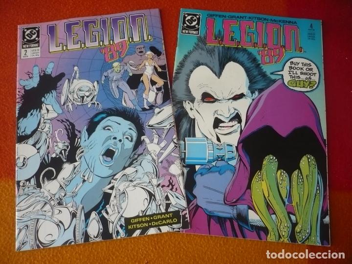 LEGION 89 NºS 2 Y 4 ( GIFFEN GRANT ) ( EN INGLES ) ¡BUEN ESTADO! DC USA (Tebeos y Comics - Comics Lengua Extranjera - Comics USA)