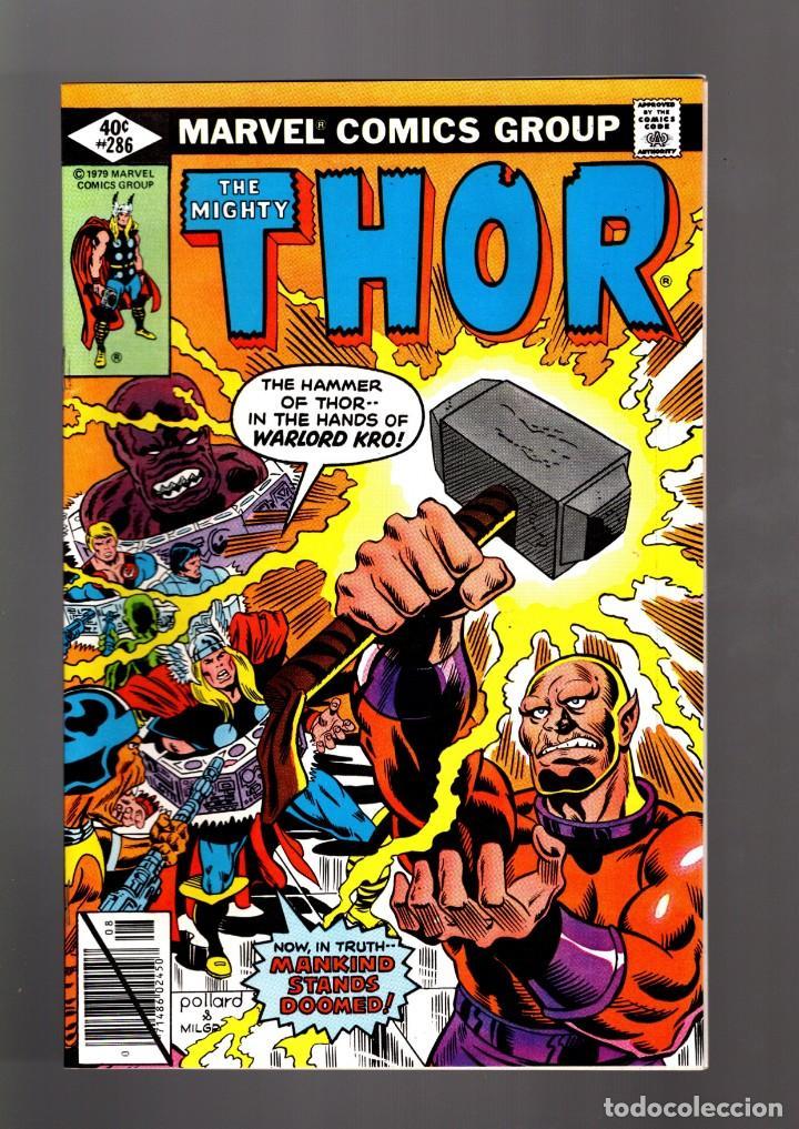 THOR 286 - MARVEL 1979 VFN/NM / THOMAS & POLLARD / ETERNALS CELESTIALS SAGA (Tebeos y Comics - Comics Lengua Extranjera - Comics USA)