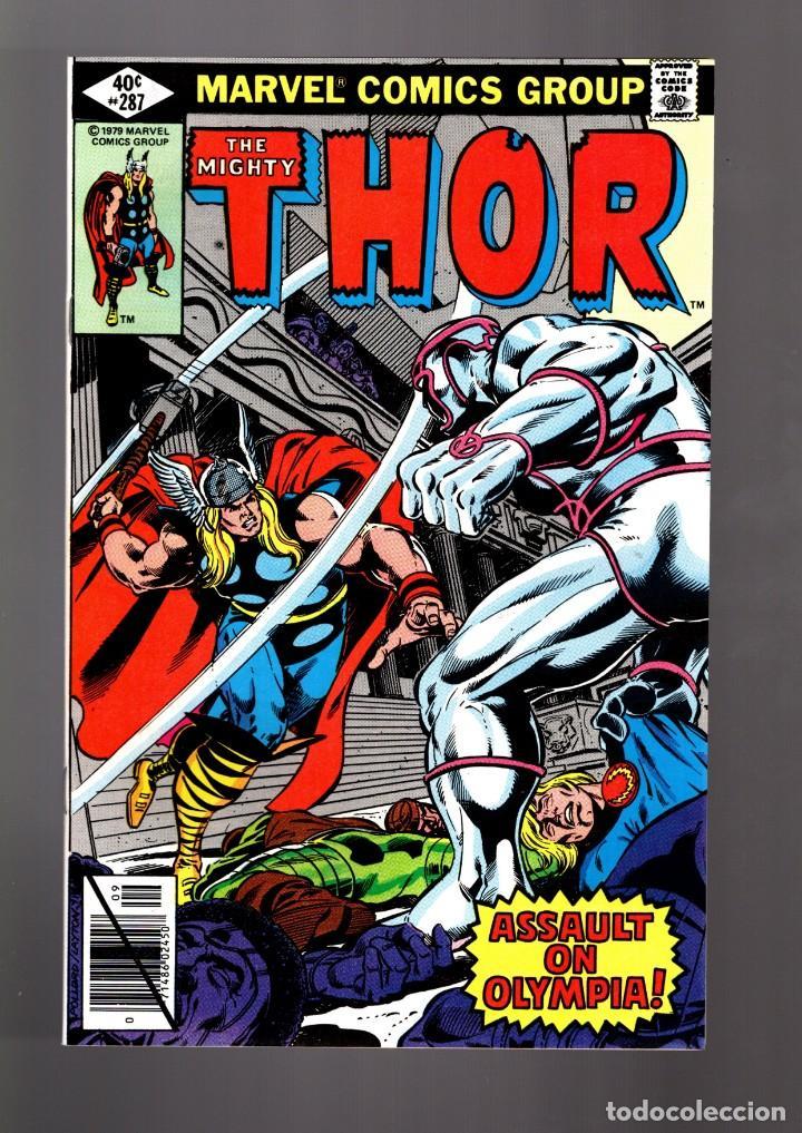 THOR 287 - MARVEL 1979 VFN/NM / THOMAS & POLLARD / ETERNALS CELESTIALS SAGA (Tebeos y Comics - Comics Lengua Extranjera - Comics USA)