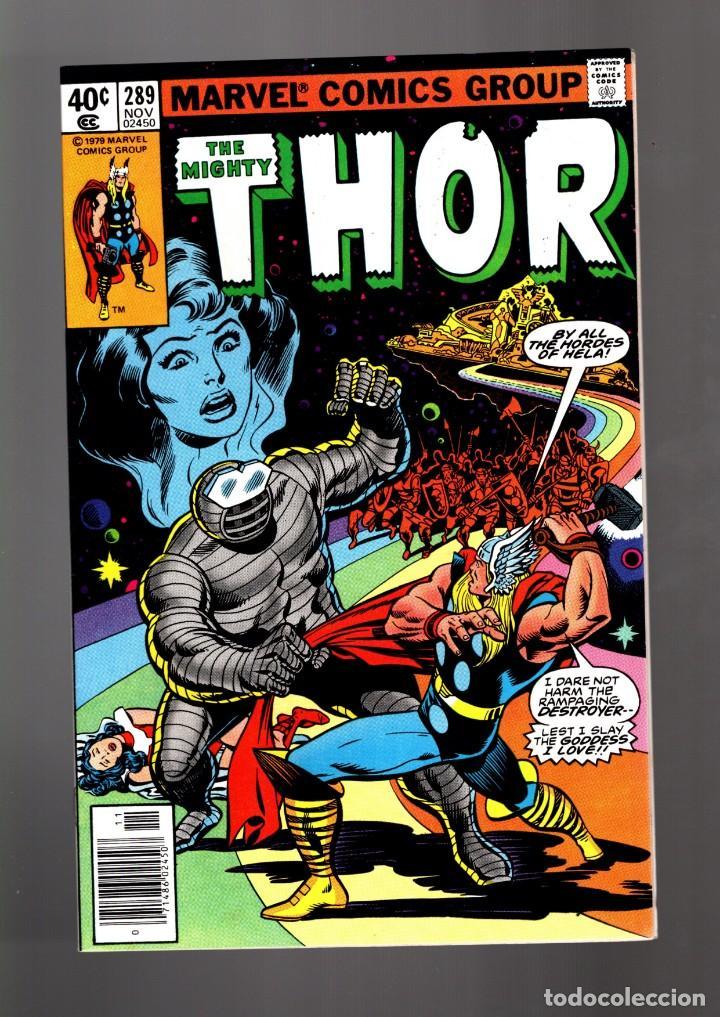 THOR 289 - MARVEL 1979 VFN/NM / THOMAS & POLLARD / ETERNALS CELESTIALS SAGA (Tebeos y Comics - Comics Lengua Extranjera - Comics USA)