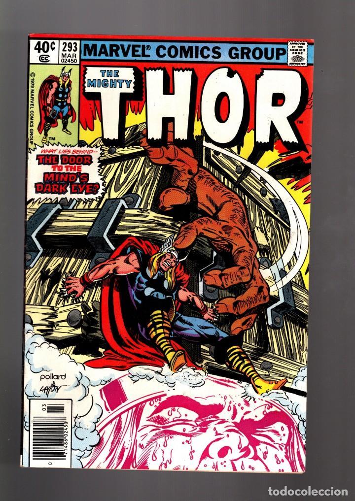 THOR 293 - MARVEL 1980 FN/VFN / THOMAS & POLLARD / ETERNALS CELESTIALS SAGA (Tebeos y Comics - Comics Lengua Extranjera - Comics USA)
