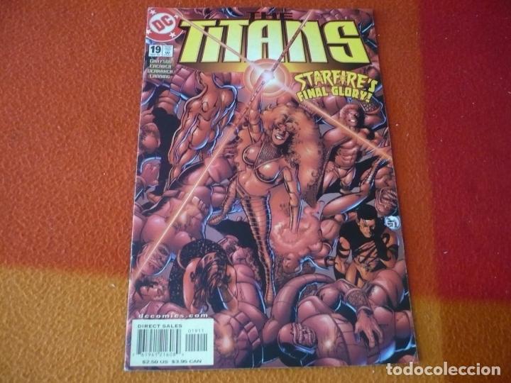 THE TITANS Nº 19 ( GRAYSON FAERBER ) ( EN INGLES ) ¡MUY BUEN ESTADO! DC USA (Tebeos y Comics - Comics Lengua Extranjera - Comics USA)