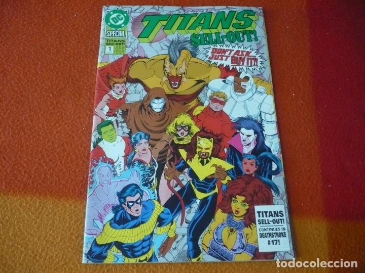 TITANS SELL-OUT SPECIAL 1 ( INCLUYE POSTER ) ( EN INGLES ) ¡MUY BUEN ESTADO! DC USA (Tebeos y Comics - Comics Lengua Extranjera - Comics USA)