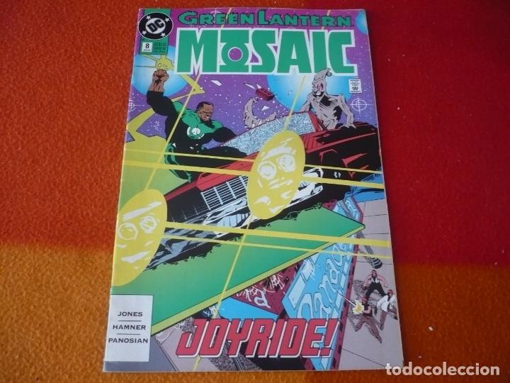 GREEN LANTERN MOSAIC Nº 8 ( GERARD JONES ) ( EN INGLES ) ¡BUEN ESTADO! DC USA (Tebeos y Comics - Comics Lengua Extranjera - Comics USA)