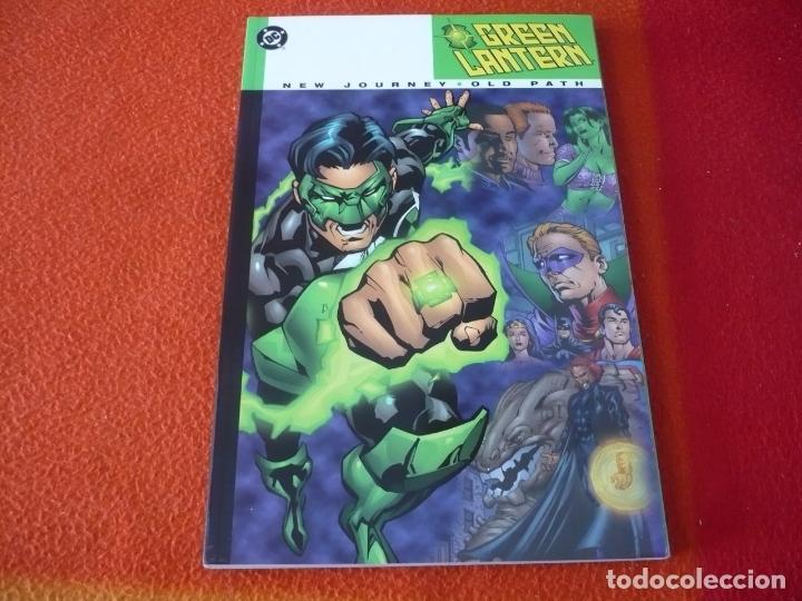 GREEN LANTERN NEW JOURNEY OLD PATH ( WINICK ) ( EN INGLES ) ¡MUY BUEN ESTADO! TOMO DC USA (Tebeos y Comics - Comics Lengua Extranjera - Comics USA)