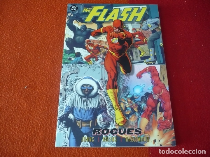 THE FLASH ROGUES ( GEOFF JOHNS KOLINS ) ( EN INGLES ) ¡BUEN ESTADO! TOMO DC USA (Tebeos y Comics - Comics Lengua Extranjera - Comics USA)