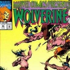 Cómics: MARVEL COMICS PRESENTS 96 - 1992 WOLVERINE AND GHOST RIDER. Lote 168070024