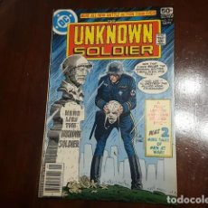 Cómics: THE UNKNOWN SOLDIER # 219 (FRANK MILLER) DICK AYERS HISTORIA COMPLENTARIA DE 5 PAGS DE FRANK MILLER. Lote 168183352