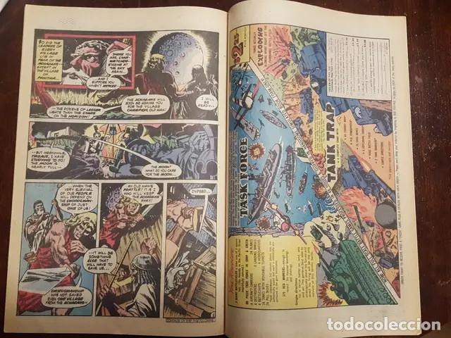 Cómics: The unknown soldier # 219 (Frank Miller) Dick Ayers Historia complentaria de 5 pags de Frank Miller - Foto 3 - 168183352