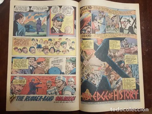 Cómics: The unknown soldier # 219 (Frank Miller) Dick Ayers Historia complentaria de 5 pags de Frank Miller - Foto 4 - 168183352