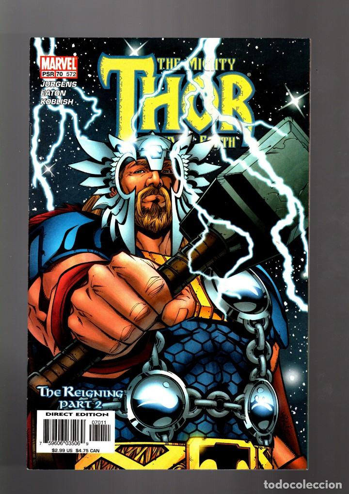 THOR 572 / 70 VOL 2 - MARVEL 2003 VFN/NM (Tebeos y Comics - Comics Lengua Extranjera - Comics USA)