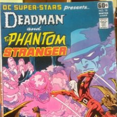 Cómics: DC SUPER STARS 18, DEADMAN AND THE PHANTOM STRANGER, DC COMICS. Lote 168195789