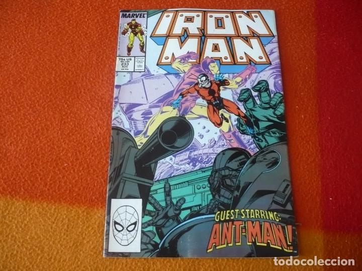 IRON MAN Nº 233 ANT-MAN ( MICHELINIE ) ( EN INGLES ) ¡BUEN ESTADO! MARVEL USA (Tebeos y Comics - Comics Lengua Extranjera - Comics USA)
