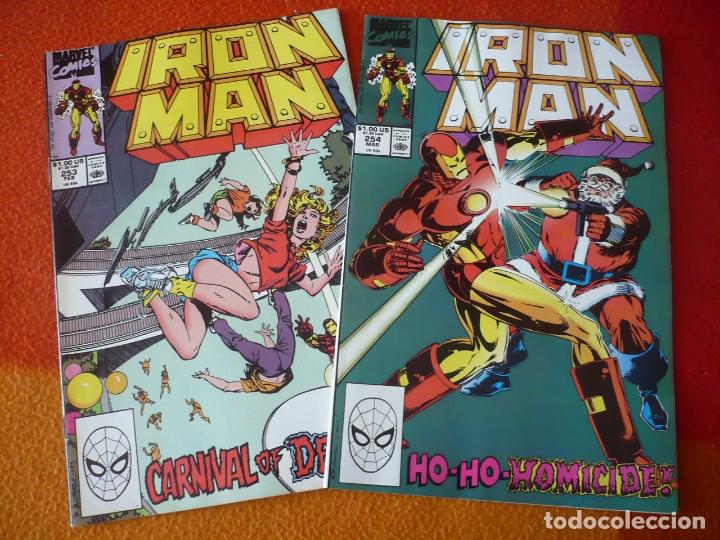 IRON MAN NºS 253 Y 254 ( COLAN LAYTON ) ( EN INGLES ) ¡BUEN ESTADO! MARVEL USA (Tebeos y Comics - Comics Lengua Extranjera - Comics USA)