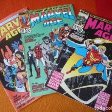 Cómics: MARVEL AGE NºS 7, 57, Y 78 THE OFFICIAL MARVEL NEWS MAGAZINE ( EN INGLES ) ¡BUEN ESTADO! USA. Lote 168330092