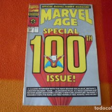 Cómics: MARVEL AGE Nº 100 SPECIAL ISSUE THE OFFICIAL MARVEL NEWS MAGAZINE ( EN INGLES ) USA . Lote 168330296