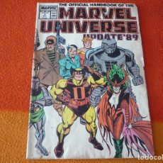 Cómics: THE OFFICIAL HANDBOOK OF THE MARVEL UNIVERSE Nº 2 UPDATE'89 ( EN INGLES ) USA 1989. Lote 168330608