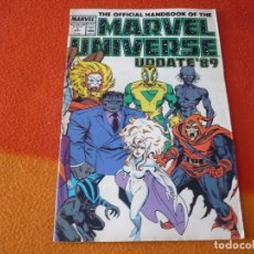 Cómics: THE OFFICIAL HANDBOOK OF THE MARVEL UNIVERSE Nº 3 UPDATE'89 ( EN INGLES ) USA 1989. Lote 168330652