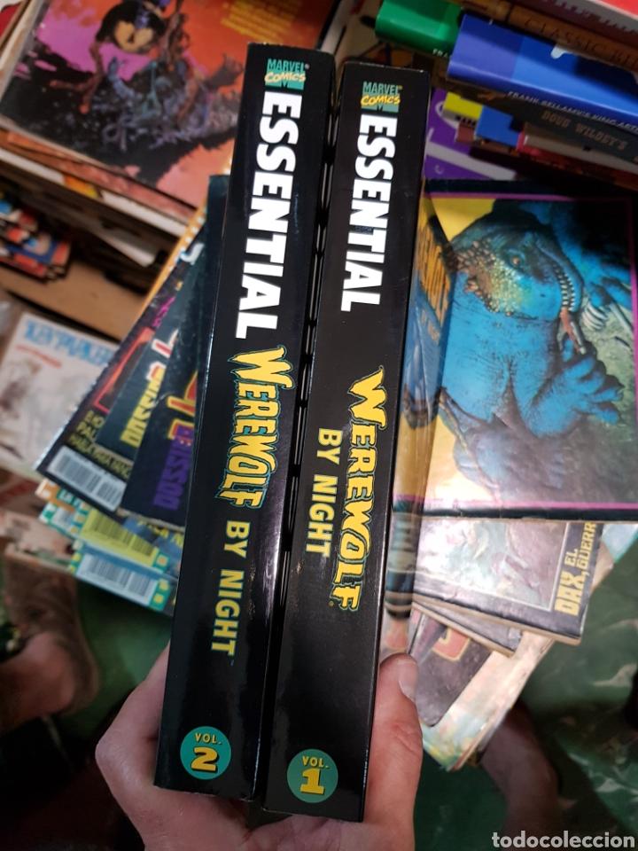 Cómics: US MARVEL: ESSENTIAL WEREWOLF BY NIGHT VOLUMENES 1 Y 2 COMPLETA EL HOMBRE LOBO DE VERTICE EN INGLES - Foto 2 - 168342820