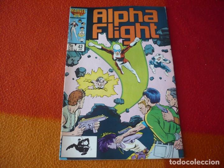 ALPHA FLIGHT Nº 43 ( MANTLO ) ( EN INGLES ) ¡BUEN ESTADO! MARVEL USA (Tebeos y Comics - Comics Lengua Extranjera - Comics USA)