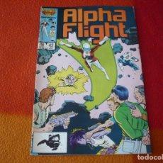 Cómics: ALPHA FLIGHT Nº 43 ( MANTLO ) ( EN INGLES ) ¡BUEN ESTADO! MARVEL USA . Lote 168357584