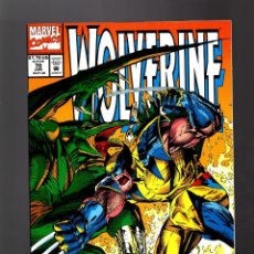 Cómics: WOLVERINE 70 - MARVEL 1993 VFN/NM / HAMA & TURNER / VS SAURON. Lote 168433940