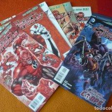 Cómics: RED LANTERNS 1 AL 7 + 9 ( MILLIGAN BENES ) ( EN INGLES ) ¡MUY BUEN ESTADO! USA DC THE NEW 52. Lote 168588184