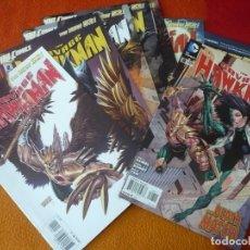 Cómics - THE SAVAGE HAWKMAN NºS 1 AL 8 ( TONY S. DANIEL TAN) (EN INGLES ) ¡MUY BUEN ESTADO! USA DC THE NEW 52 - 168589540