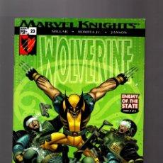 Cómics: WOLVERINE 23 - MARVEL 2005 VFN / MILLAR & ROMITA JR / ENEMY OF THE STATE. Lote 168594944